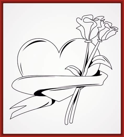 Dibujos de Corazon Para Colorear e Imprimir | Fotos de ...