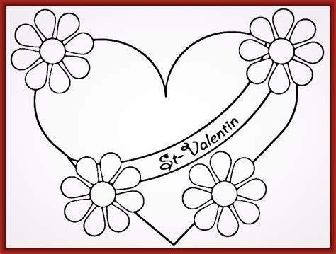 dibujos de corazones bonitos para colorear Archivos ...