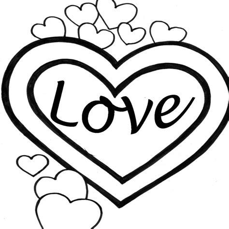 Dibujos De Corazones De Amor Para Imprimir Y Pintar ...