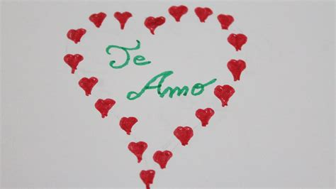 Dibujos de corazones de amor   YouTube