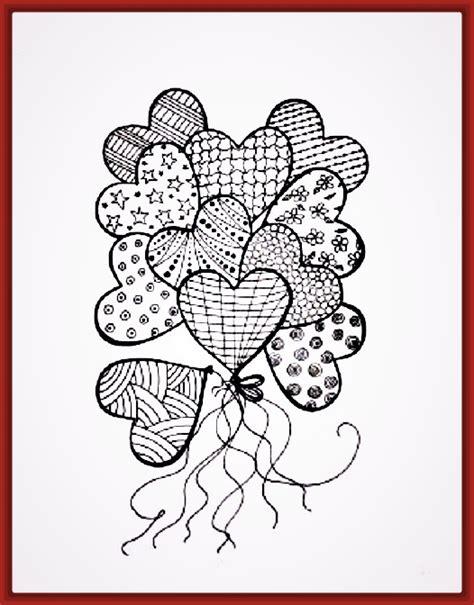dibujos de corazones para colorear de amor Archivos ...