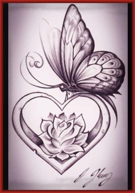 dibujos de corazones romanticos para dibujar Archivos ...