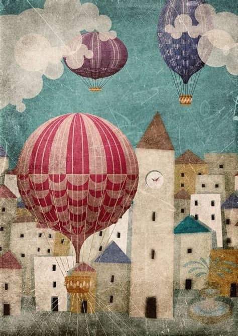 dibujos de globos aerostaticos antiguos   Buscar con ...