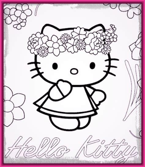 Dibujos de Hello Kitty para Colorear Muy Bonitos ...