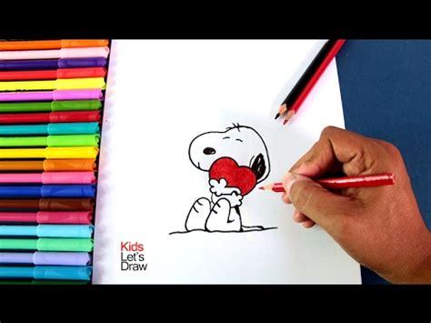 Dibujos Día del Amor y la Amistad: Snoopy enamorado   How ...