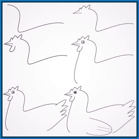 Dibujos Faciles para Dibujar de Animales Hermosos
