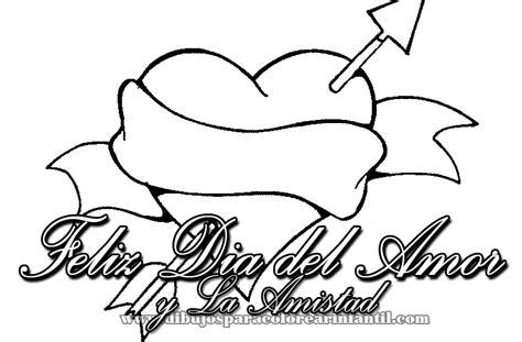 Dibujos infantiles de Felíz Día del Amor y la Amistad para ...