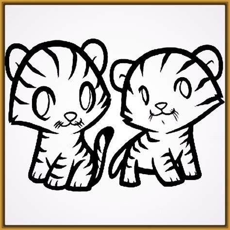 dibujos infantiles de tigres para colorear Archivos ...