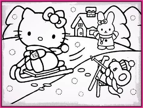 dibujos infantiles para colorear e imprimir hello kitty ...
