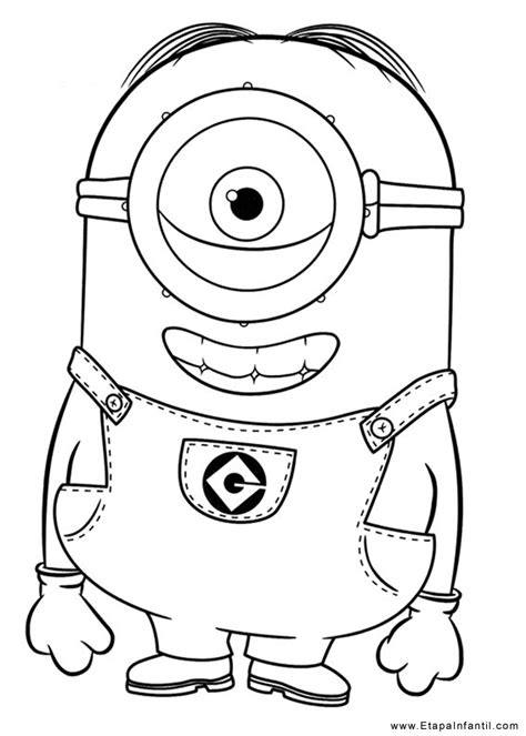 Dibujos infantiles para imprimir y colorear   Etapa Infantil