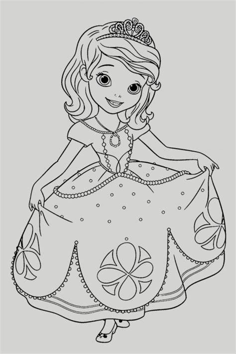Dibujos Online Para Colorear Gratis De Princesas Disney E ...
