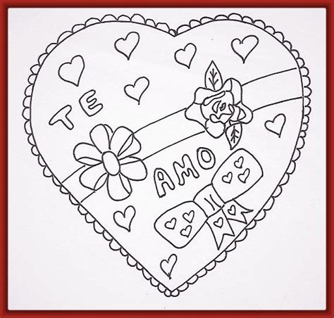 Dibujos Para Calcar De Amor. Top Este Sitio Te Brindara ...