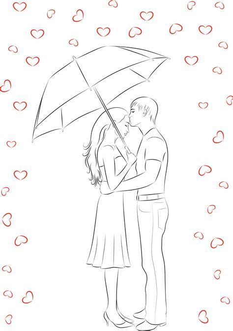 Dibujos para colorear de amor   IMujer