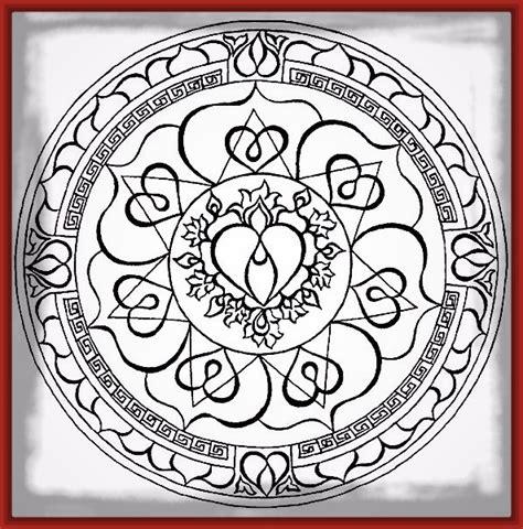 dibujos para colorear de corazones Archivos | Imagenes de ...