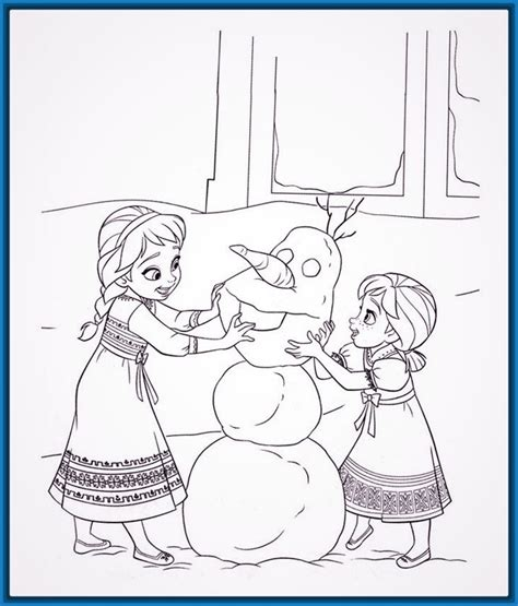 dibujos para colorear de frozen Archivos | Dibujos para ...