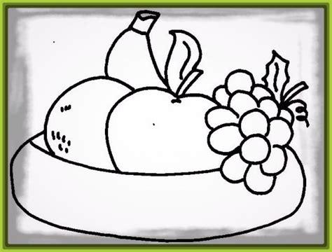 dibujos para colorear de frutas con caritas Archivos ...