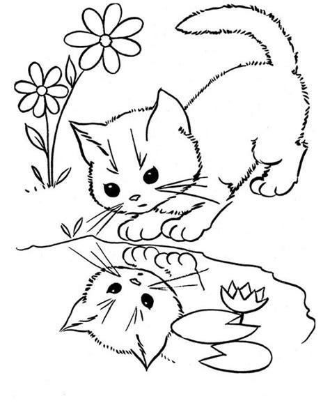 dibujos para colorear de gatitos bonito Archivos   Dibujos ...