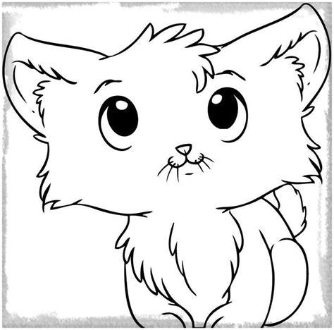 dibujos para colorear de gatitos bonitos Archivos ...