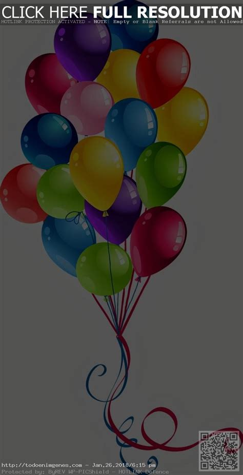 Dibujos Para Colorear Globos Cumpleaños ~ Ideas Creativas ...