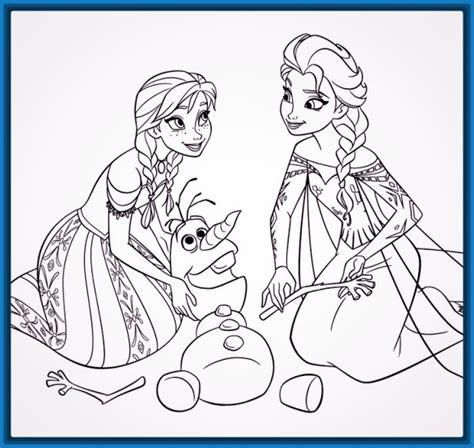 dibujos para colorear imprimir de frozen Archivos ...