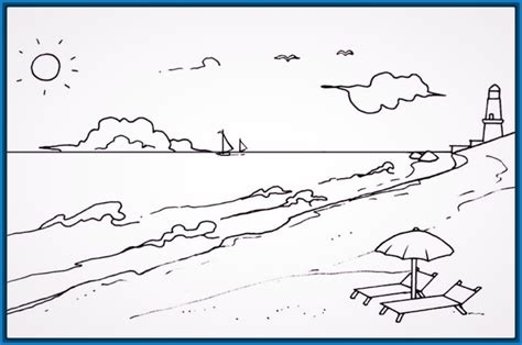 dibujos para colorear paisajes bonitos Archivos | Dibujos ...