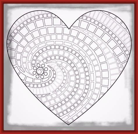 Dibujos para Imprimir de Corazones y Mandalas | Imagenes ...