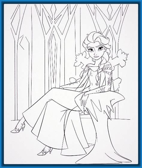 dibujos para pintar de frozen Archivos | Imagenes de Dibujos