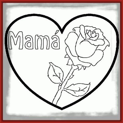 dibujos para pintar de rosas y corazones Archivos ...