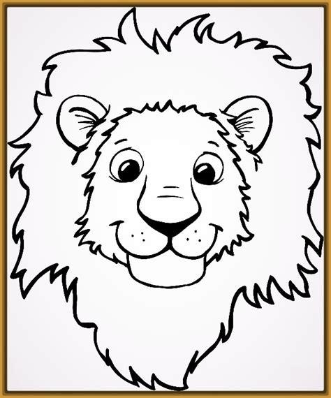 Dibujos Para Pintar de Tigres y Leones Para Colorear ...