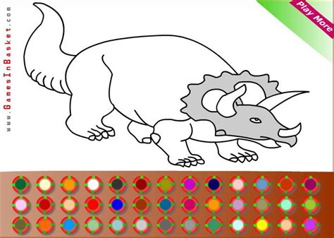 Dibujos para pintar en el ordenador animales | Dinosaurios ...
