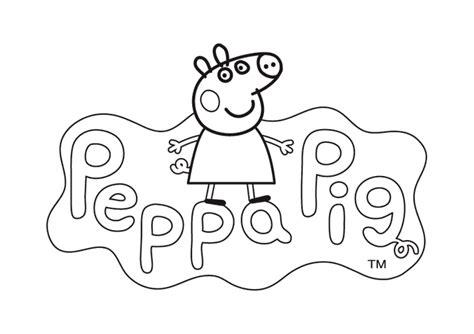 Dibujos para Pintar Online Peppa Pig Fáciles