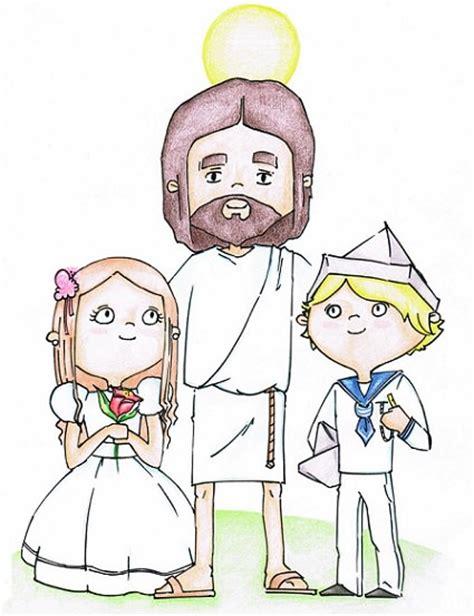 Dibujos para recordatorios de primera comunión