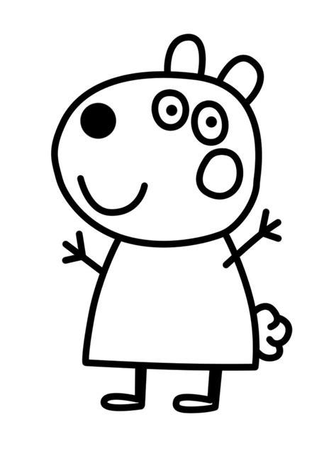 Dibujos PEPPA PIG para COLOREAR | CuentosLargos.COM