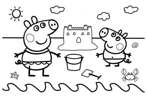 Dibujos Peppa pig para imprimir y colorear   Dibujos para ...