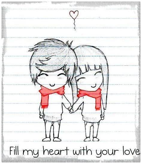 dibujos tiernos de amor a lápiz Archivos   Dibujos de Amor ...
