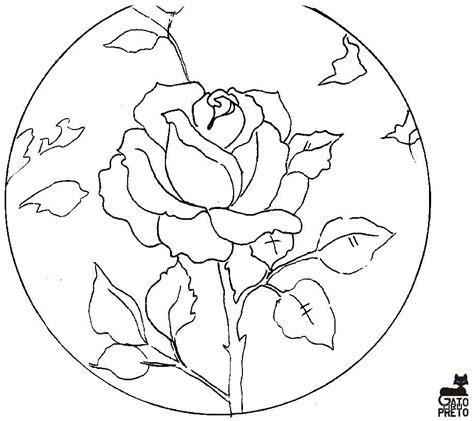 Dibujos y Plantillas para imprimir: Dibujos de flores