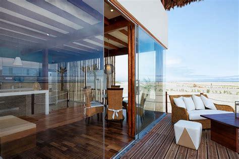 Diseño de casa de playa con bambú y madera | Planos de ...