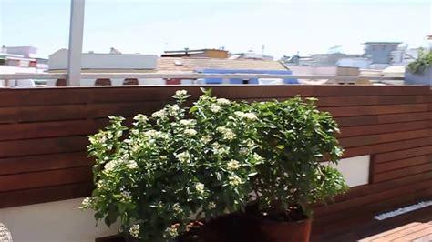 Diseño de jardín y decoración en terraza de ático   YouTube