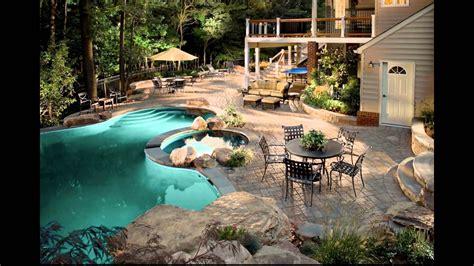 Diseño de Jardines Modernos con piscina. HD 3D. Arte y ...