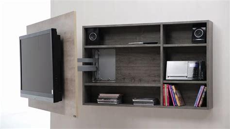 Diseño de muebles para Tv giratorio de melamina | Web del ...