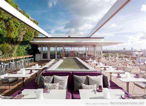 diseno exterior restaurante minimalista terraza ...