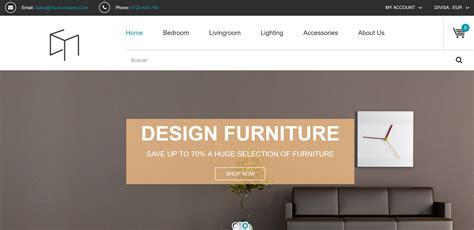 Diseño para una Tienda online de muebles y decoración