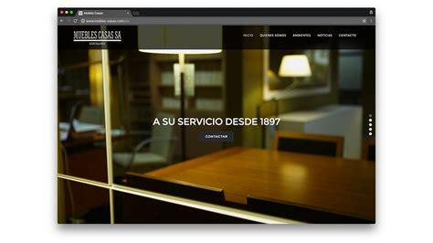 Diseño web muebles Casas en Barcelona   Agencia Effortsl.Net