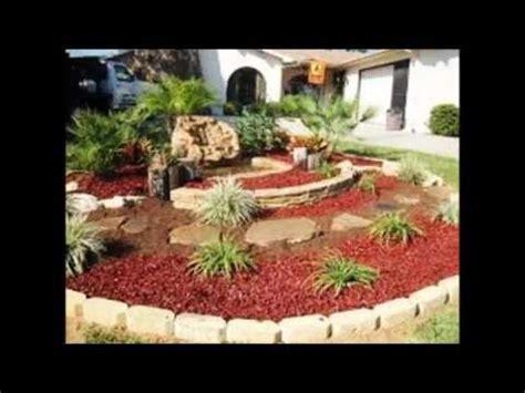 Diseño y decoración de jardines con piedras   YouTube