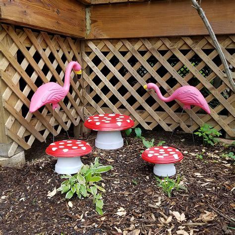 DIY Como hacer honguitos para decorar el Jardín   Alicia ...