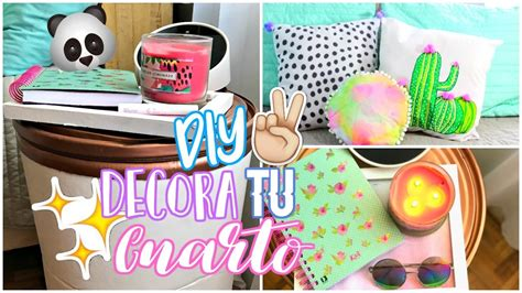 DIY DECORA TU CUARTO TUMBLR || 3 IDEAS PARA DECORAR TU CUARTO