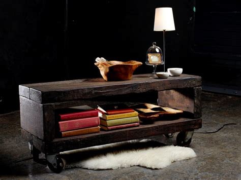 DIY Furniture Projects: 5 Rustic Industrial Pieces ...