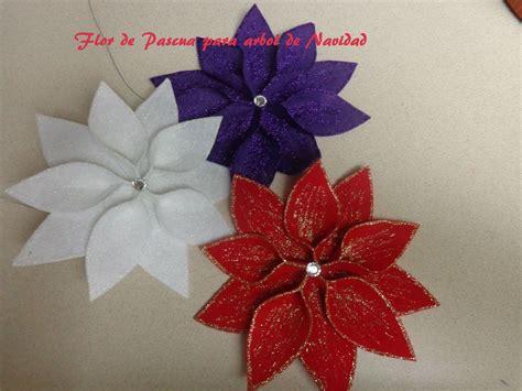 Diy:Manualidades para Navidad: Flor de pascua para decorar ...