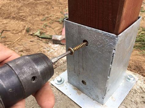 DIY Montaje pergola 3x3 madera con solera para hac ...