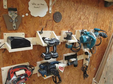 DIY Power Tool Storage System   Wilker Do s